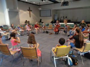 Taylor played the cello in the fiddling class.