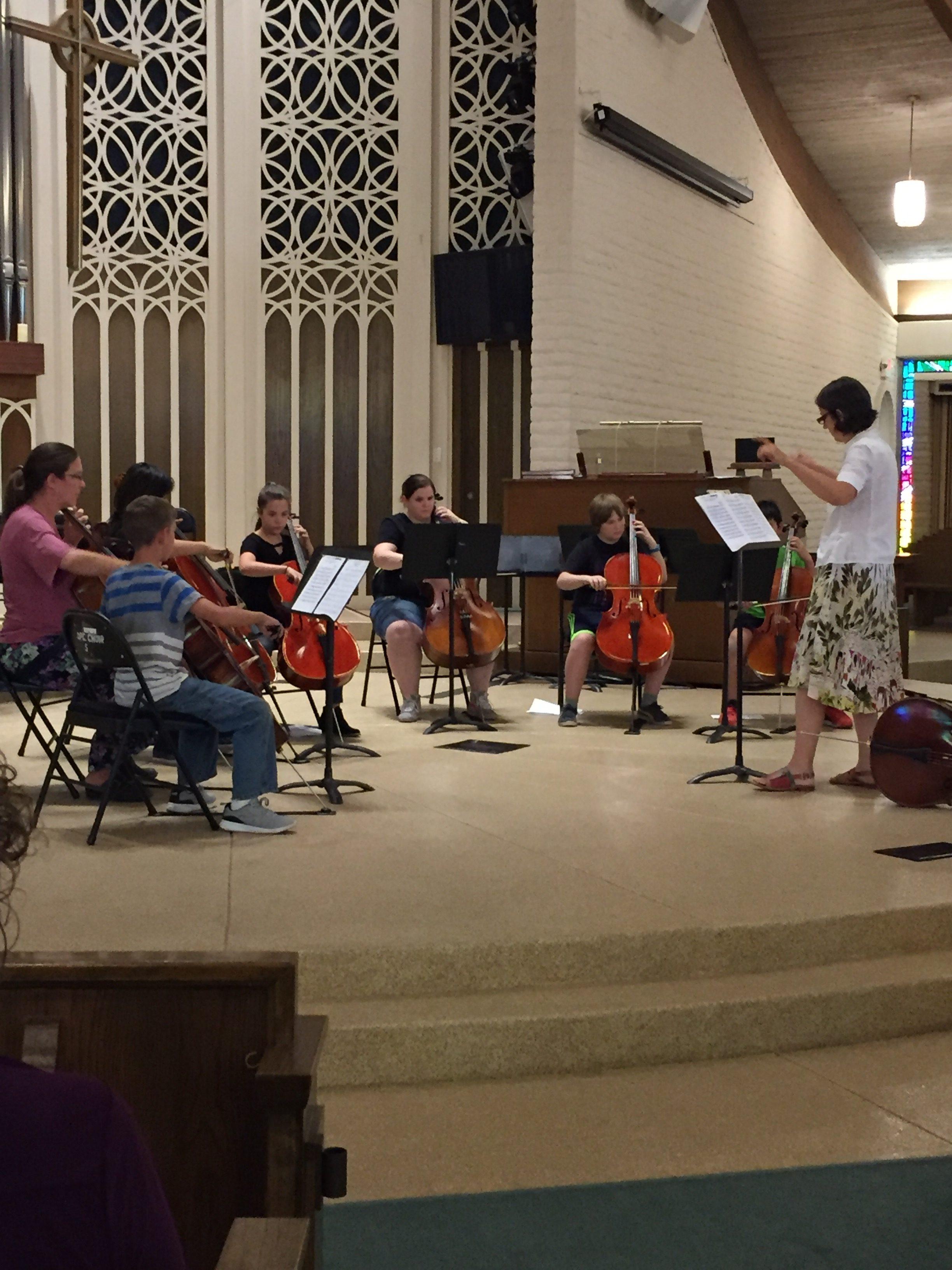Cello Choir