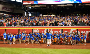 ASA Students play National Anthem