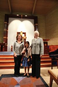 Grace Hsiao and Doris Preucil