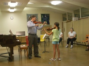 Workshop Master Class with Michael McLean, 2011