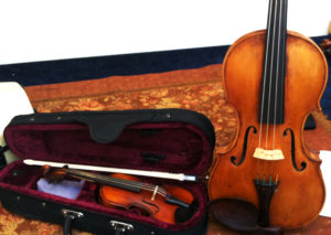 Child's Violin and Full Size Violin